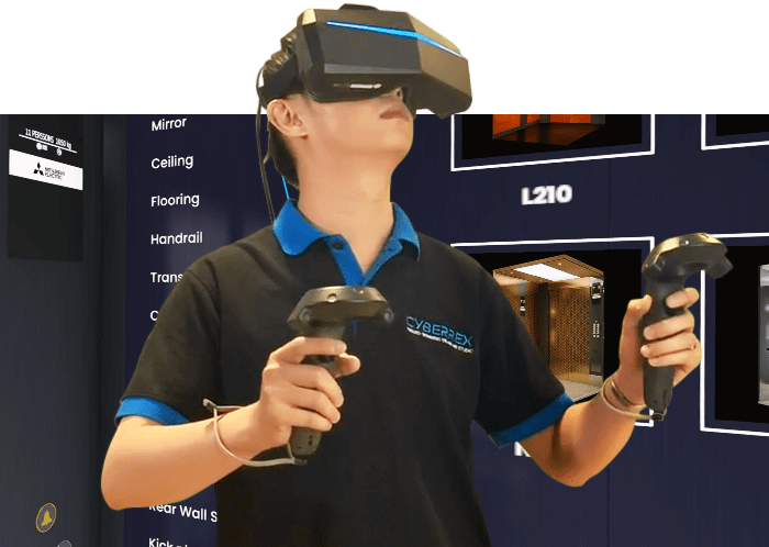 VR Simulator Mitsubishi